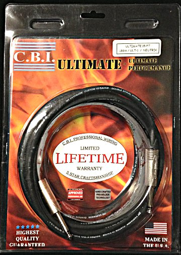 CBI Ultimate 15 foot Guitar Cable